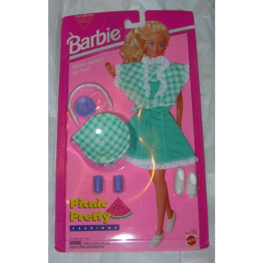バービー人形 着せ替え おもちゃ Barbie Fashions Picnic Pretty 輸入品