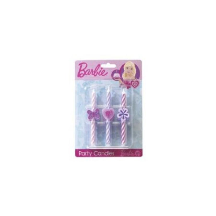 バービー人形 着せ替え おもちゃ Barbie Birthday Candles 輸入品