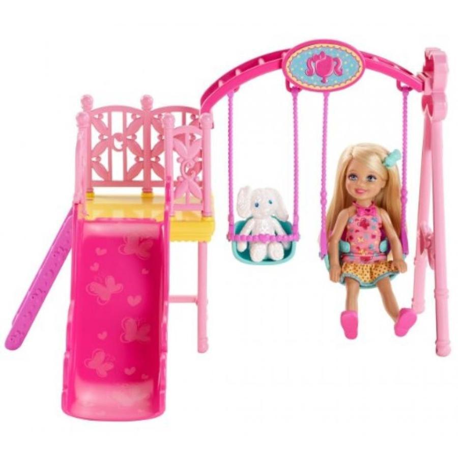 バービー人形 着せ替え おもちゃ Barbie Sisters Chelsea Swing Set 輸入品