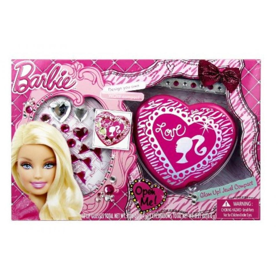バービー人形 着せ替え おもちゃ Barbie Glam Up! DIY Jewel Compact 輸入品