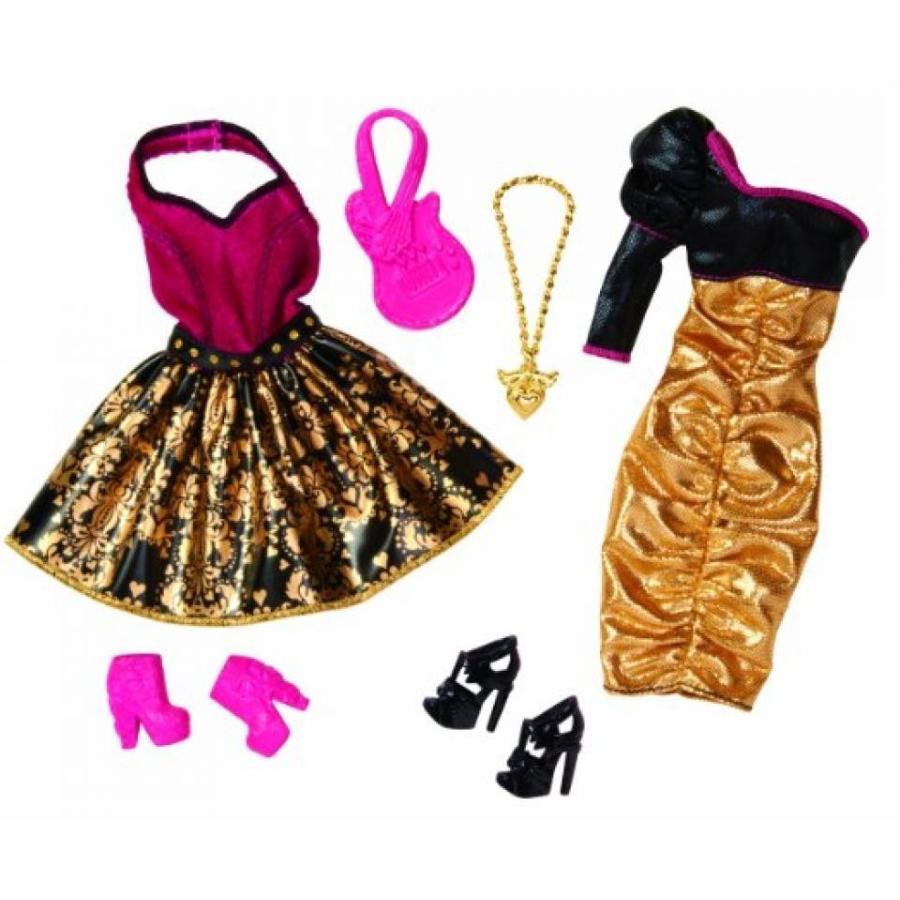 バービー人形 おもちゃ 着せ替え Barbie Night Looks Rock Concert Fashion Pack 輸入品