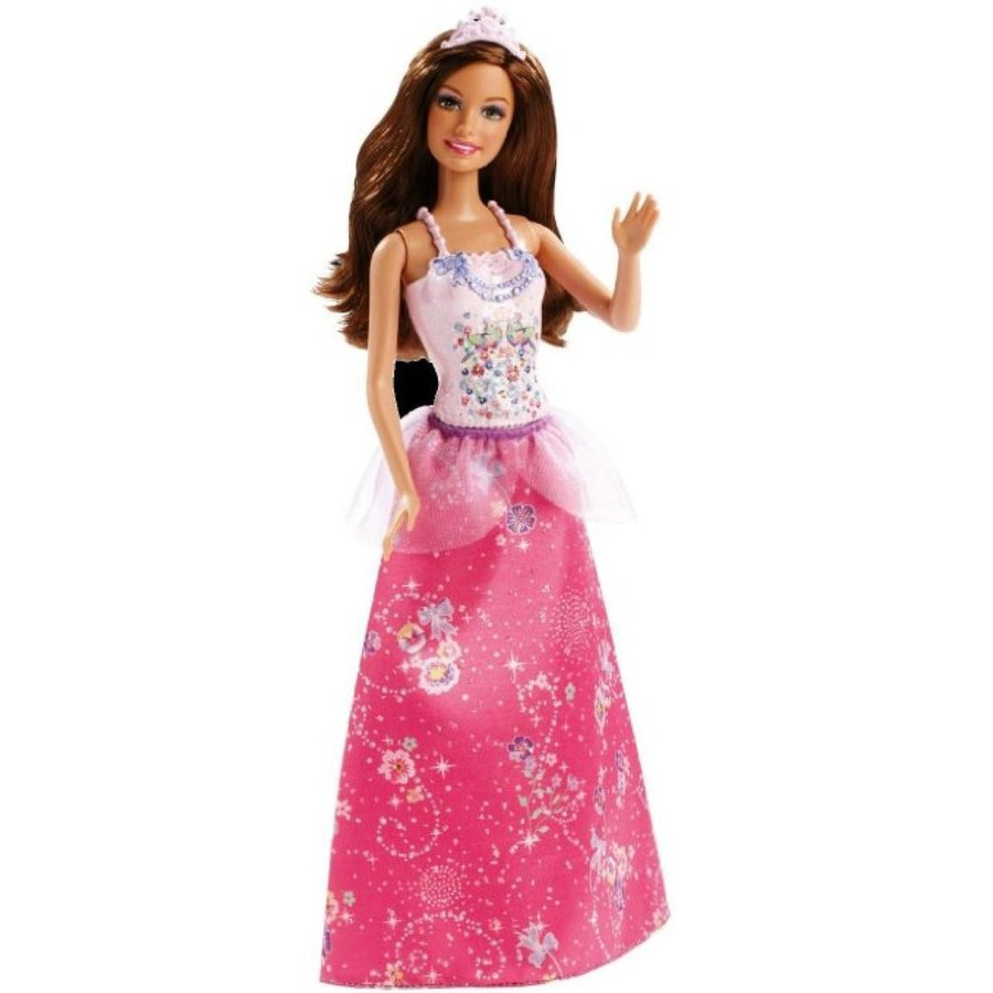 バービー人形 着せ替え おもちゃ Barbie Fairytale Magic Princess Teresa Doll 輸入品