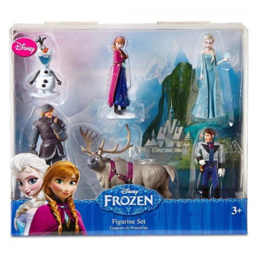 アナと雪の女王 おもちゃ フィギュア Disney Frozen 6 pc Figurine Figure Set Sven, Hans, Anna, Elsa, Kristoff and Olaf 輸入品