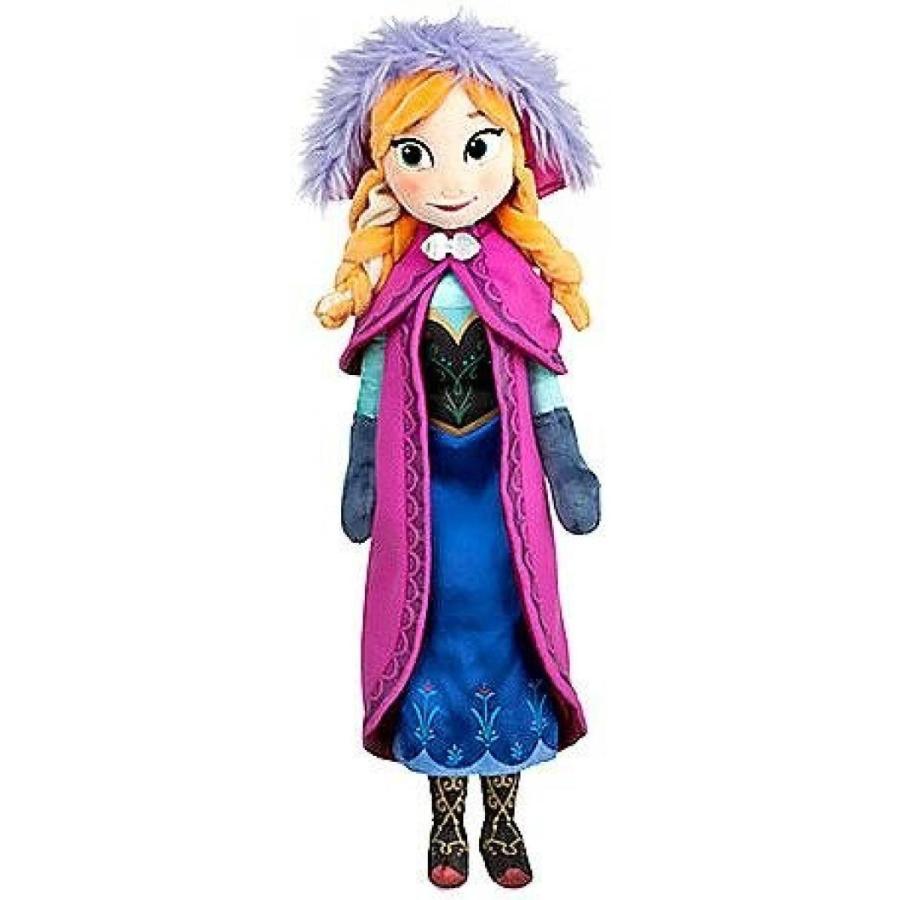 アナと雪の女王 おもちゃ フィギュア Disney Store Anna Plush Doll - Frozen - Medium - 20'' 輸入品