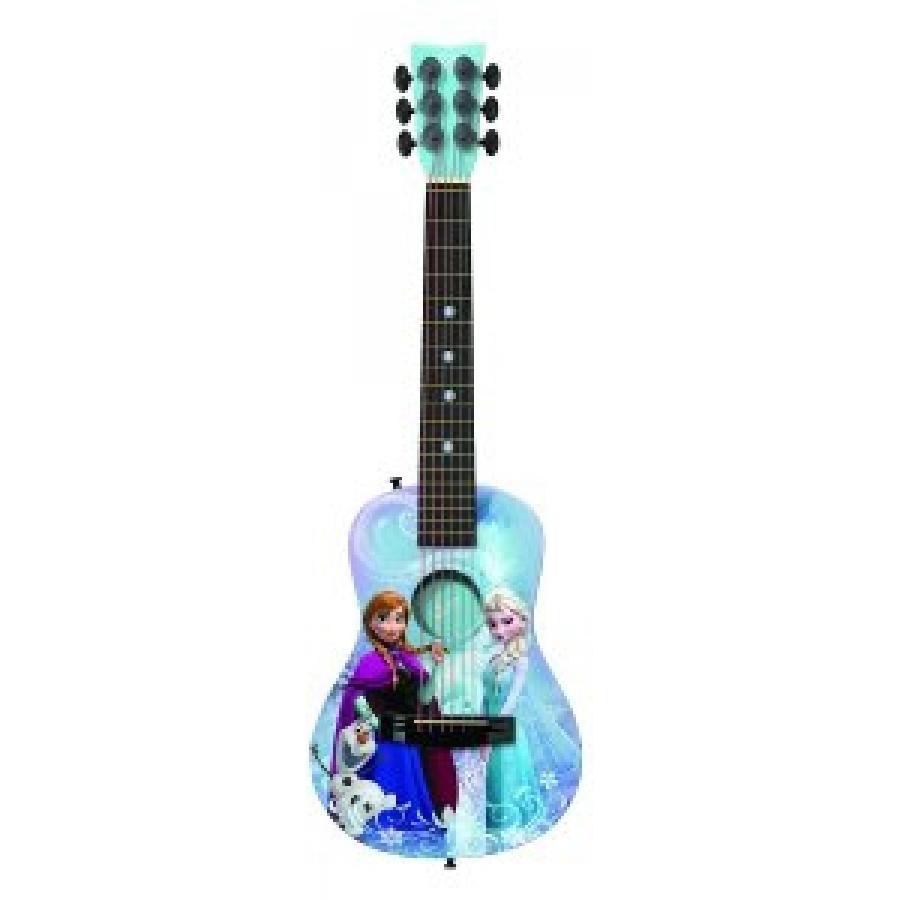 アナと雪の女王 おもちゃ フィギュア Disney Frozen Acoustic Guitar by First Act - FR705 輸入品