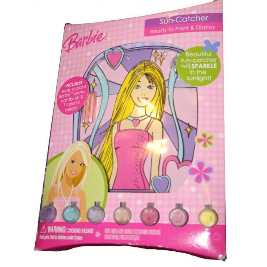 バービー人形 着せ替え おもちゃ Barbie Sun-Catcher - Ready to Paint and Display 輸入品