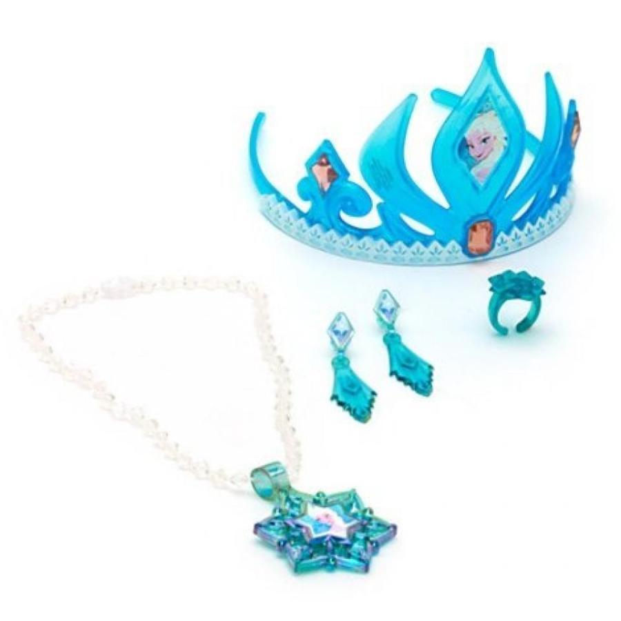アナと雪の女王 おもちゃ フィギュア Disney Frozen Elsa Tiara & Jewelry Set 輸入品