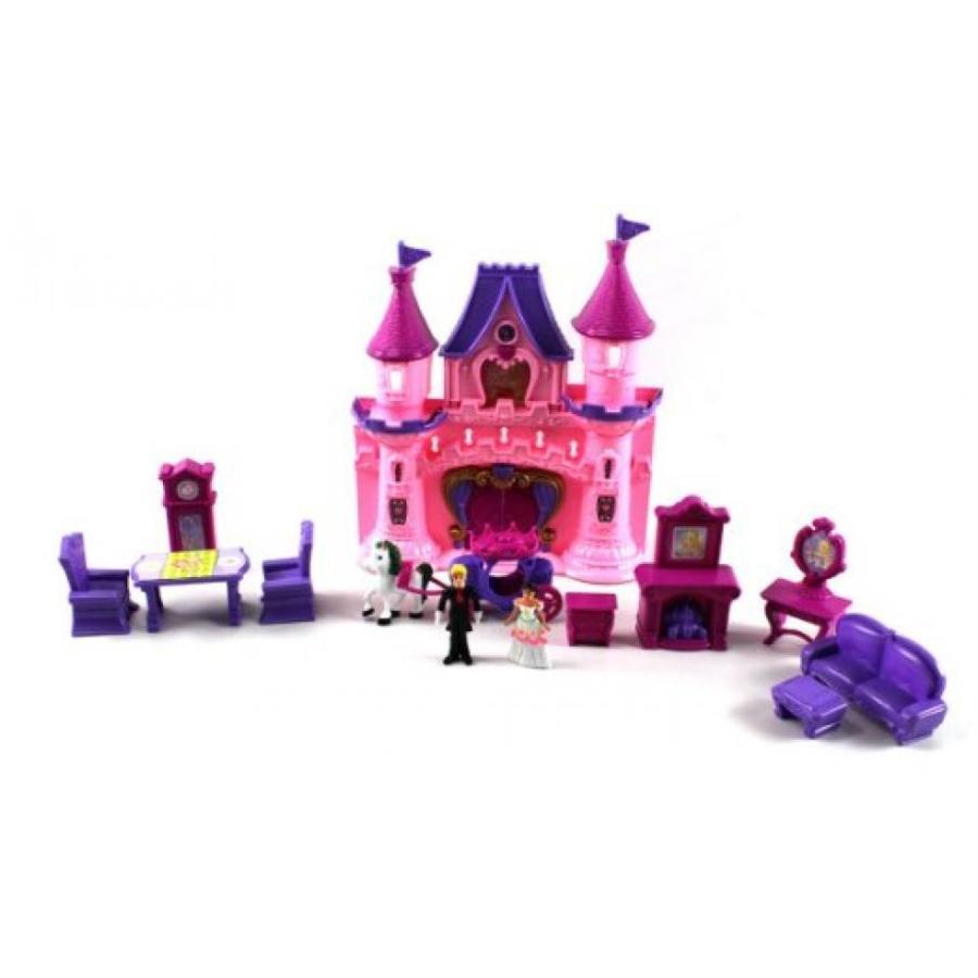 バービー人形 着せ替え おもちゃ My Dream Castle Beauty Princess Toy Doll Playset, Comes w/