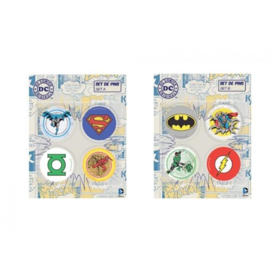 アベンジャーズ おもちゃ フィギュア DC Comics Superhero Badge Pins Superman Batman 緑 Lan