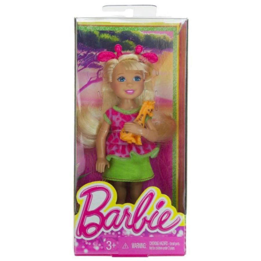 バービー人形 着せ替え おもちゃ Chelsea + Baby Giraffe: Barbie Chelsea Goes on a Safari Collection ~5.5