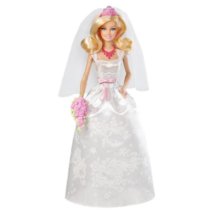 バービー人形 おもちゃ 着せ替え Amazing Barbie Royal Bride Doll by Mattel 輸入品