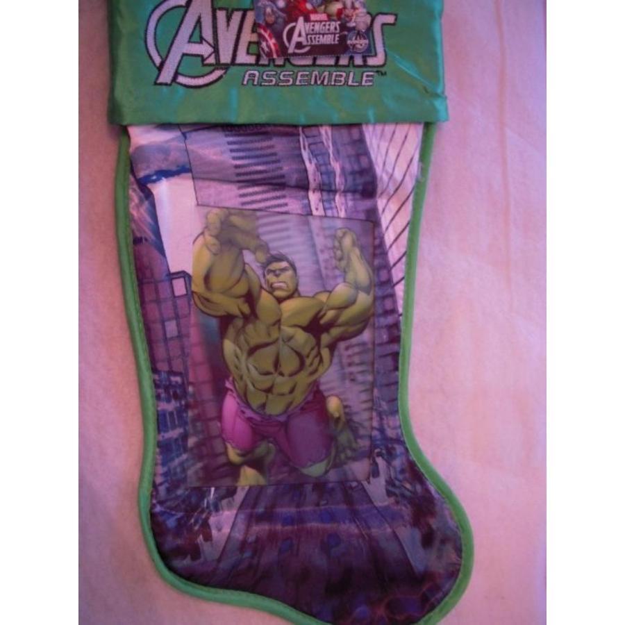 アベンジャーズ おもちゃ フィギュア Marvel The Avengers Assemble Santa Stocking (The Inc赤ible Hulk) 輸入品