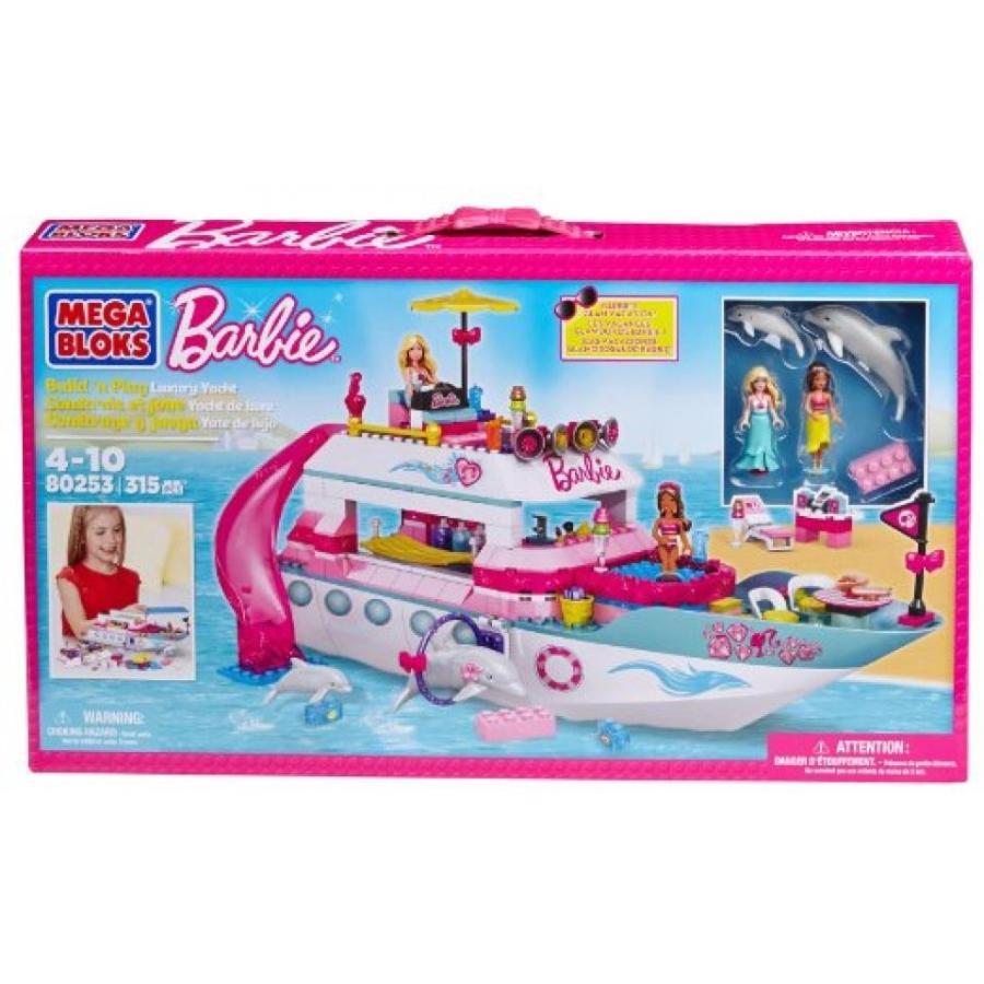 バービー人形 おもちゃ 着せ替え Mega Bloks Barbie Luxury Yacht 輸入品