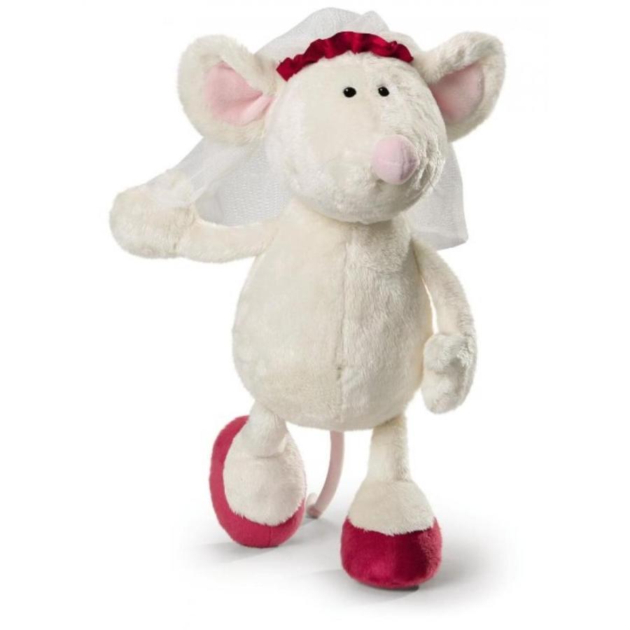 アナと雪の女王 おもちゃ フィギュア Bride Mouse 35 Cm Plush By Nici - Jusst Married 輸入品