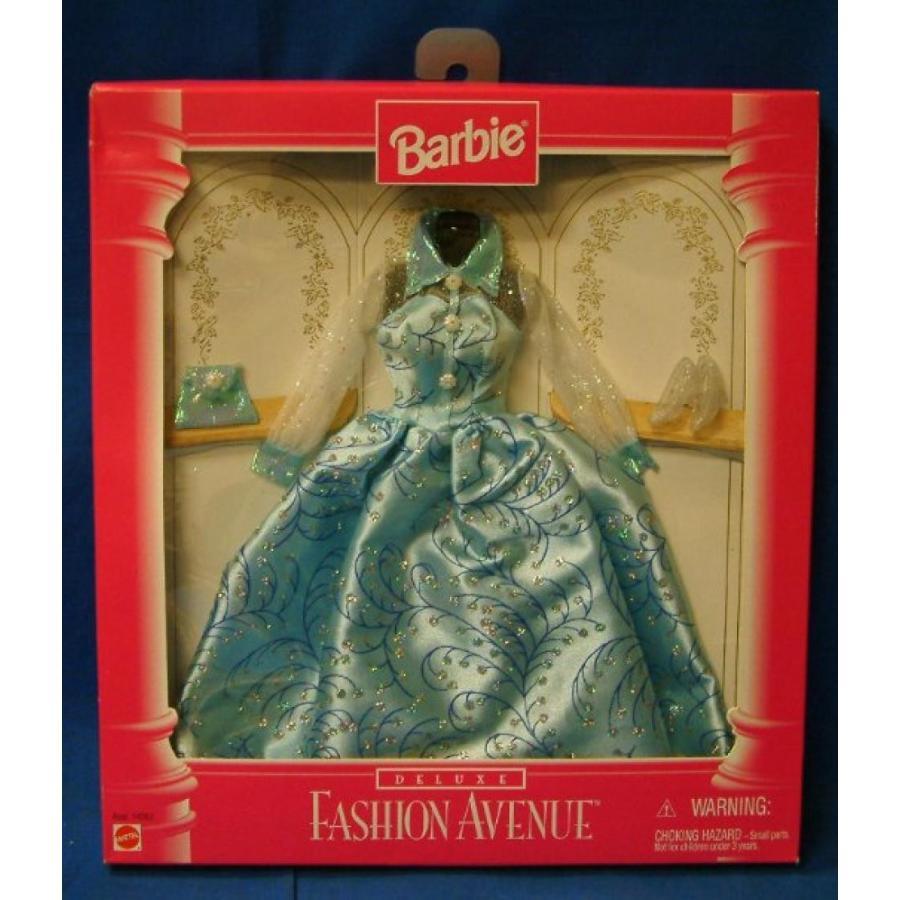 バービー人形 おもちゃ 着せ替え Barbie Deluxe Fashion Avenue 青 Sparkling Gown Outfit and Accessories (1996) 輸入品