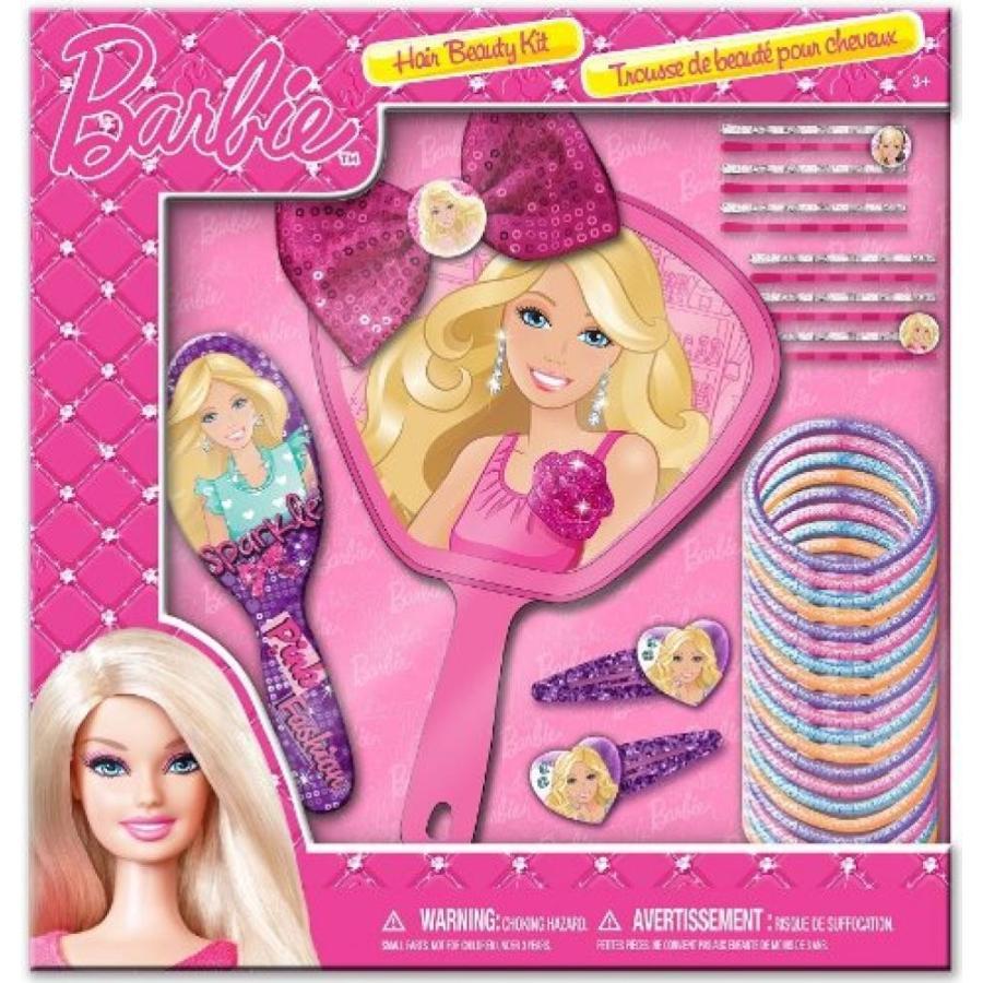 バービー人形 着せ替え おもちゃ Barbie Hair Beauty Kit Play Set Sparkle Accessories 輸入品