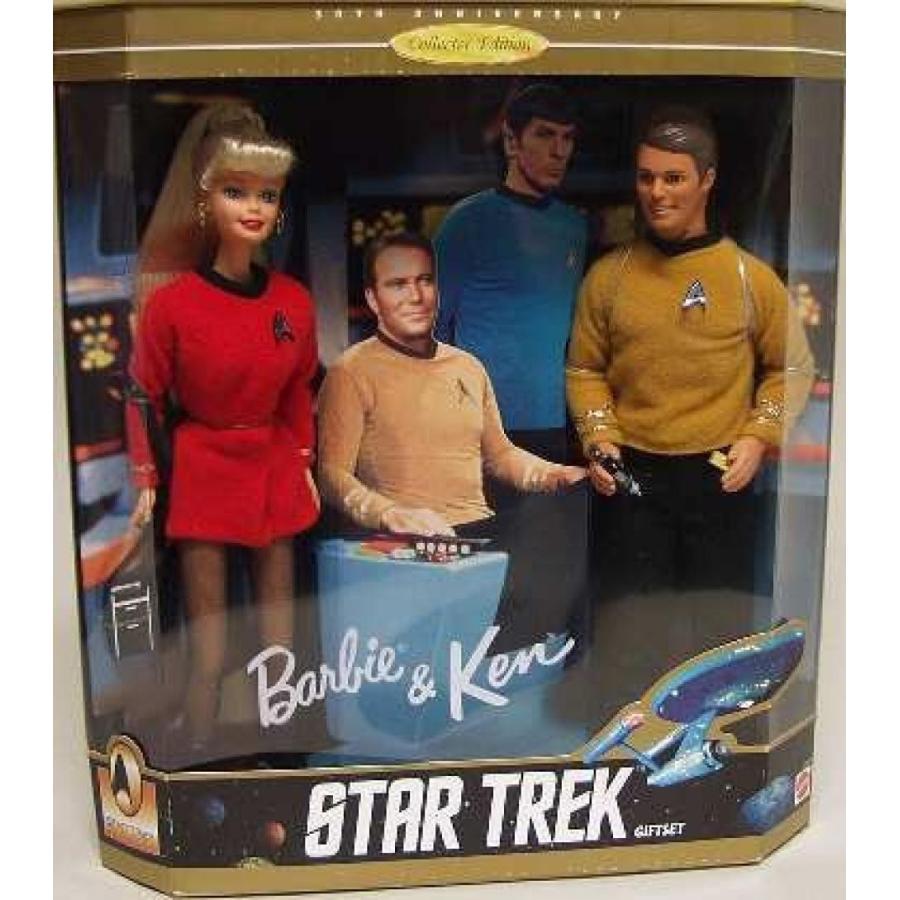 バービー人形 おもちゃ 着せ替え Barbie & Ken Star Trek 30th Anniversary Collector's Edition Gift Set 輸入品