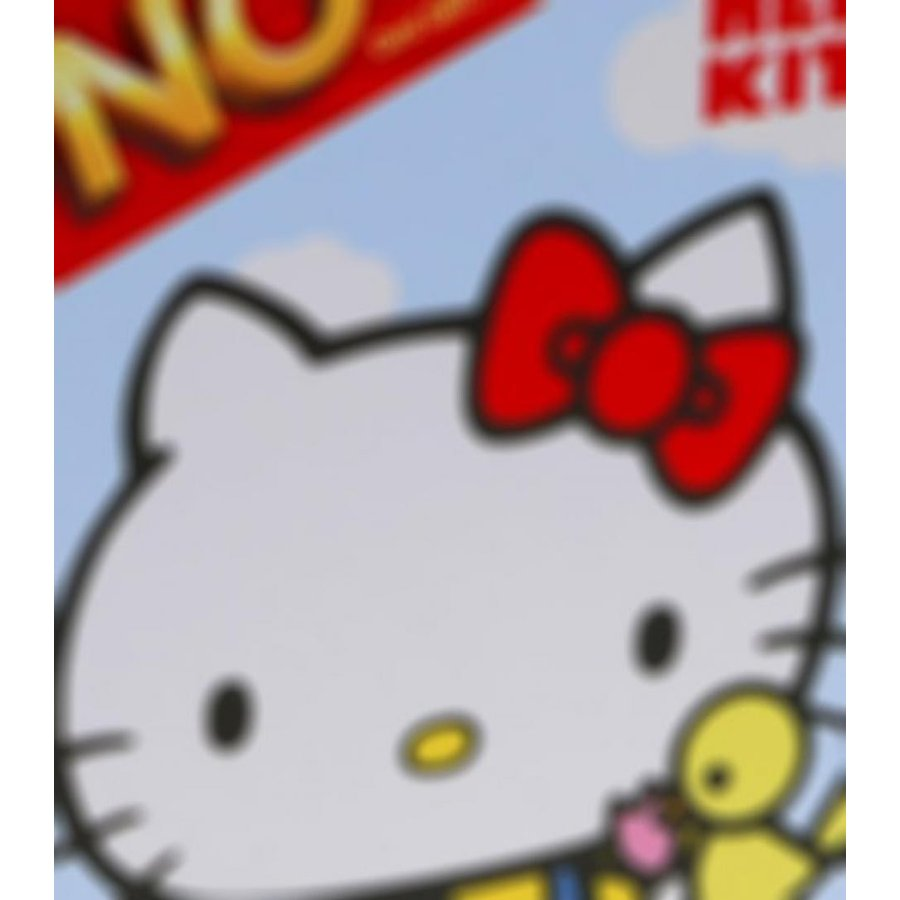 バービー人形 着せ替え おもちゃ Hello Kitty UNO Card Game in Colorful Collector's Tin 輸入品