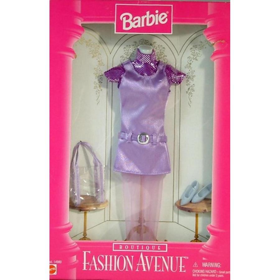 バービー人形 おもちゃ 着せ替え Barbie - Fashion Avenue - Lavender Dress with Matching Accessories 輸入品