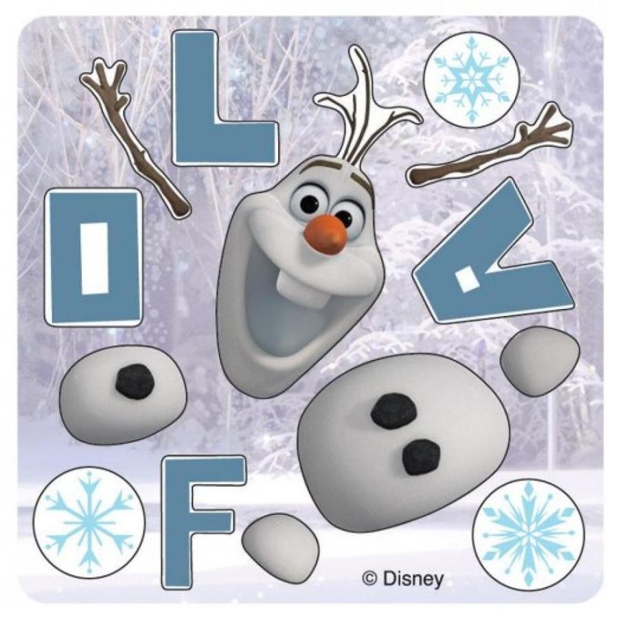 アナと雪の女王 おもちゃ フィギュア MYO Olaf Stickers - 50 Per Pack 輸入品