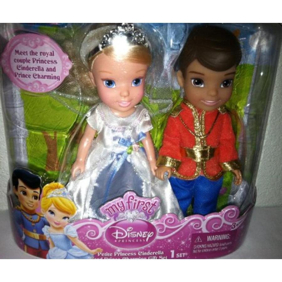 バービー人形 おもちゃ 着せ替え My First Disney Princess Cinderella and Prince Charming Doll Gift Set 輸入品