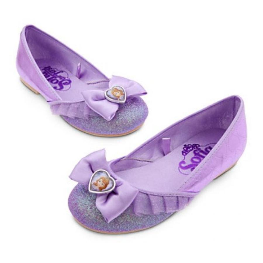 アナと雪の女王 おもちゃ フィギュア Disney Sofia the First Shoes for Girls Size (11/12) 輸入品
