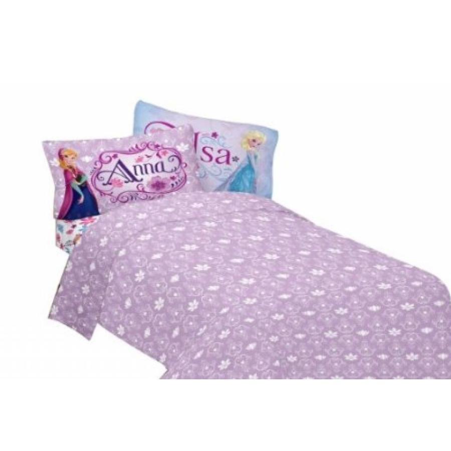 アナと雪の女王 おもちゃ フィギュア Disney's Frozen Warm Heart Twin Sheet Set 輸入品
