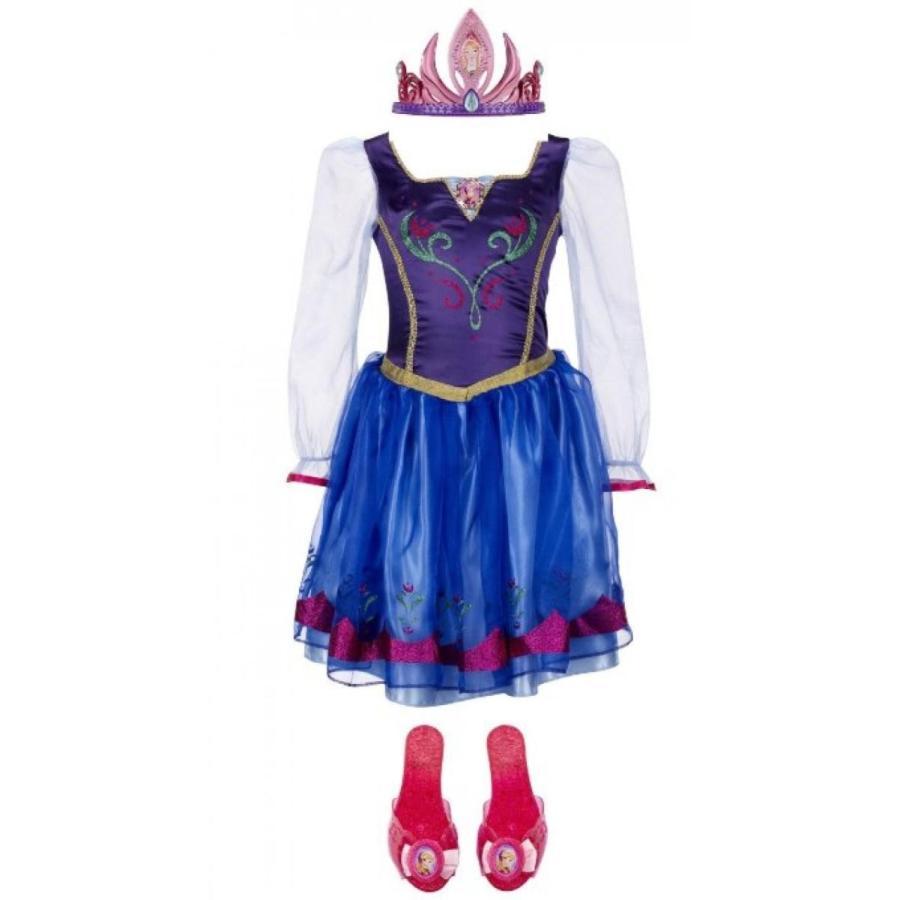 アナと雪の女王 おもちゃ フィギュア Disney's Frozen ~ Princess Anna Enchanting Dress,Tiara & Shoes ~ 4-6X 輸入品
