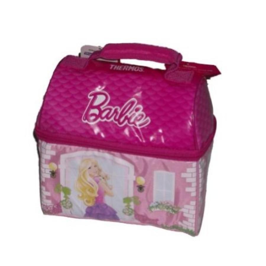 バービー人形 着せ替え おもちゃ Thermos Barbie Doll House Soft Lunch Box Insulated Lunch Bag Girls Lunchbox 輸入品