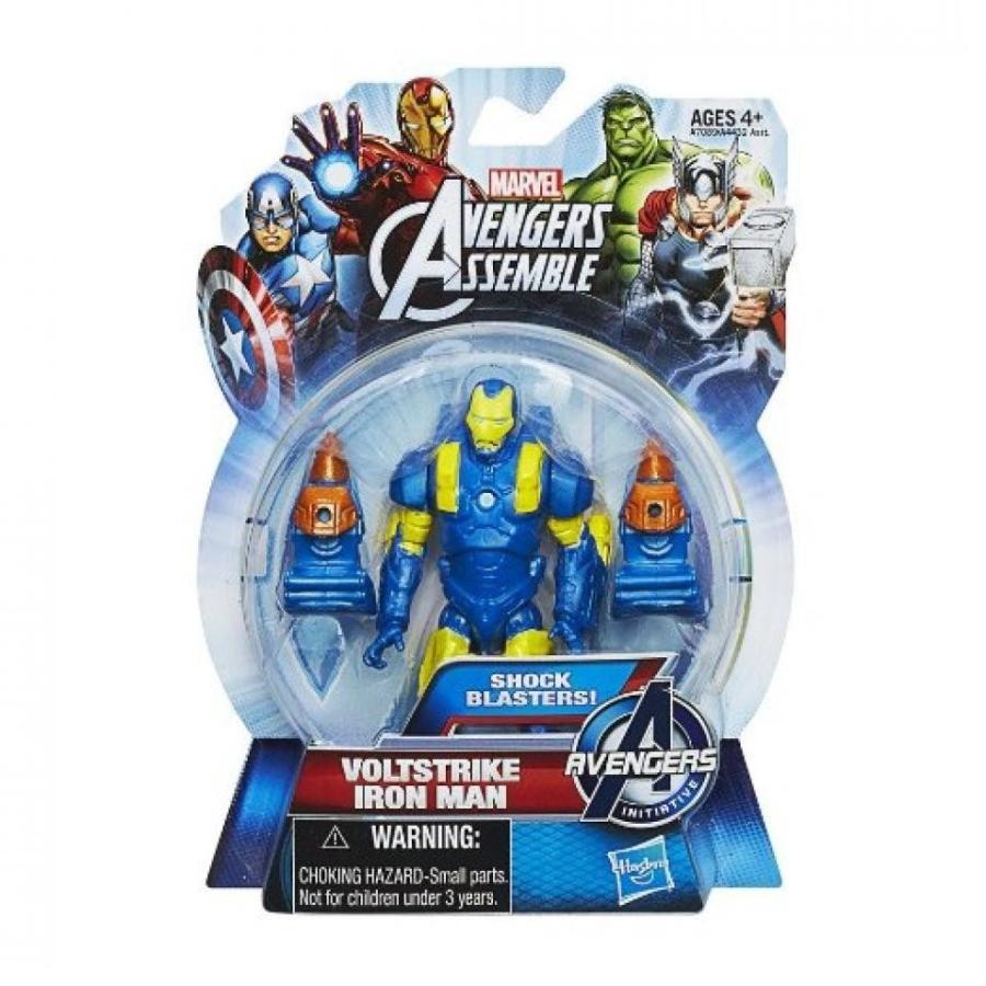 アベンジャーズ おもちゃ フィギュア Marvel Avengers Assemble Action Figure Voltstrike Iron Man 輸入品