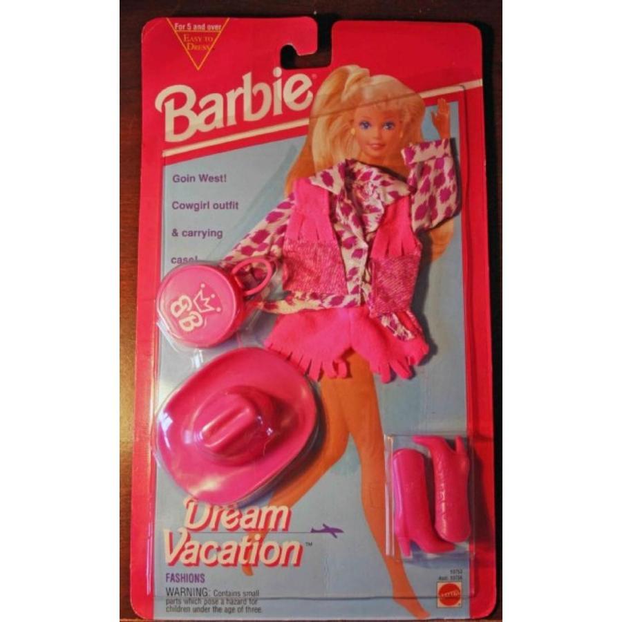バービー人形 おもちゃ 着せ替え Barbie Dream Vacation Fashions Goin West! 輸入品