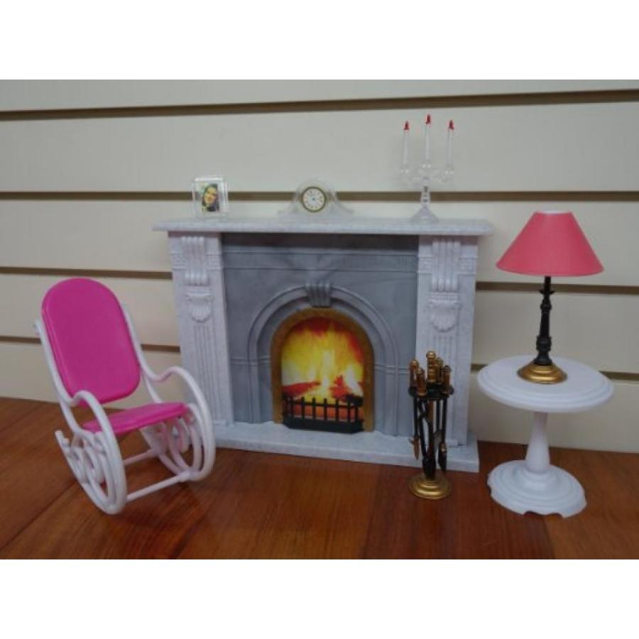 バービー人形 着せ替え おもちゃ Gloria Fireplace 輸入品
