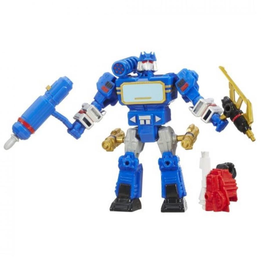 トランスフォーマー おもちゃ 変形 合体ロボ Transformers Hero Mashers Soundwave Figure 輸入品