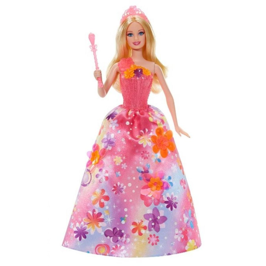 バービー人形 着せ替え おもちゃ Barbie and The Secret Door Princess Alexa Singing Doll 輸入品