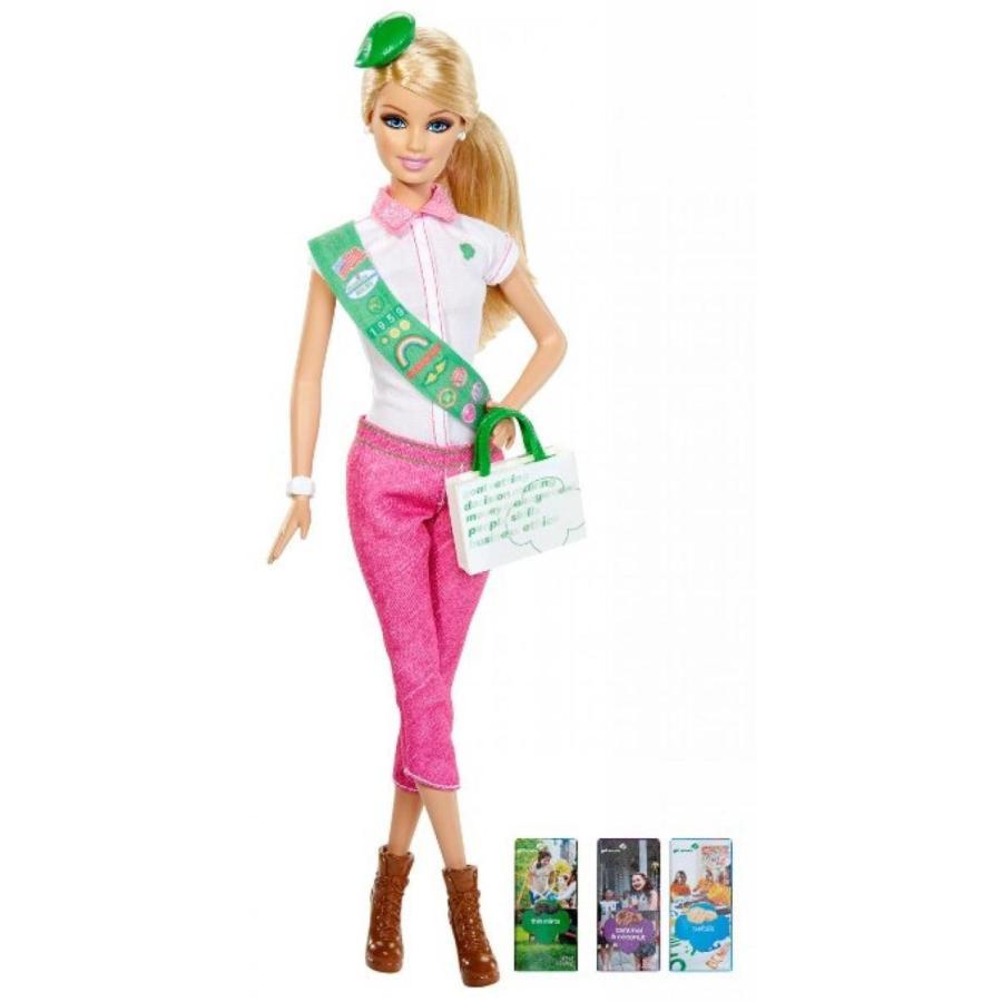 バービー人形 着せ替え おもちゃ Barbie Loves Girl Scouts Doll 輸入品