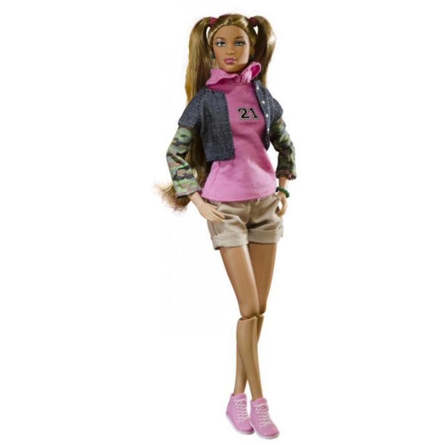 バービー人形 おもちゃ 着せ替え Prettie Girls The Valencia Doll 輸入品