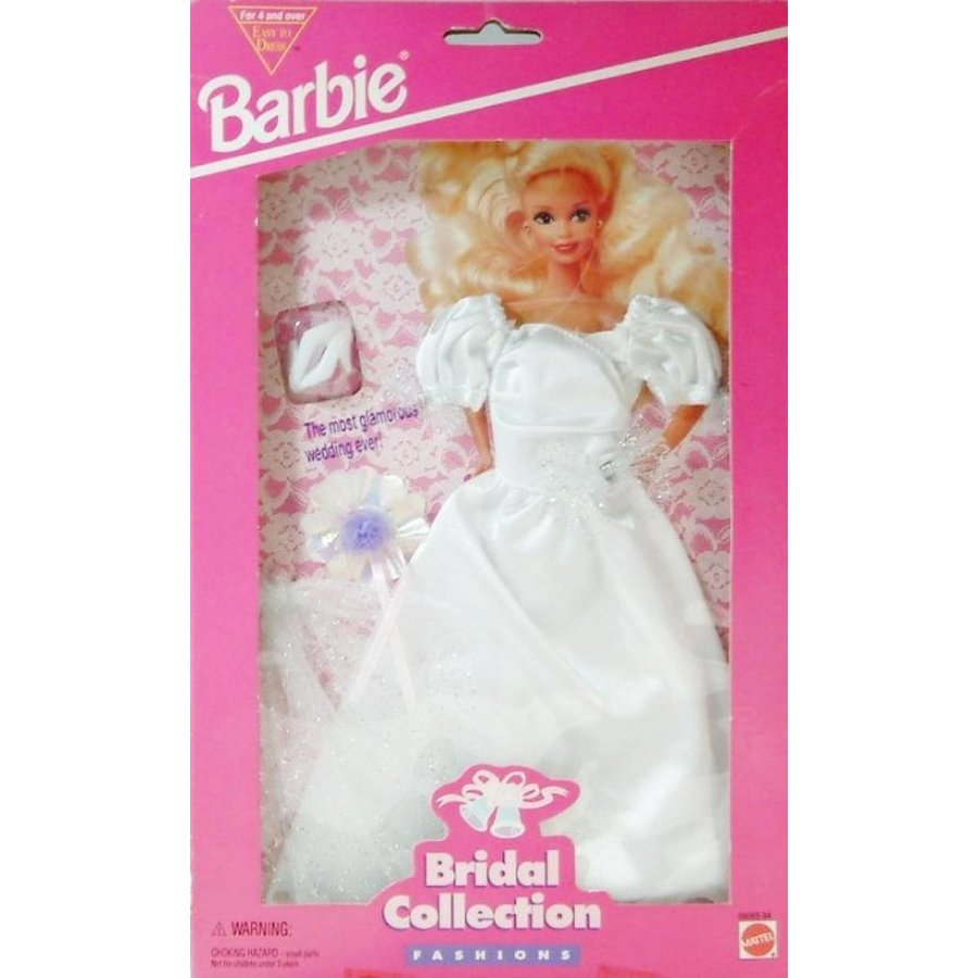 バービー人形 おもちゃ 着せ替え Barbie - Bridal Collection Fashions - Wedding Dress with Matching Accessories 輸入品