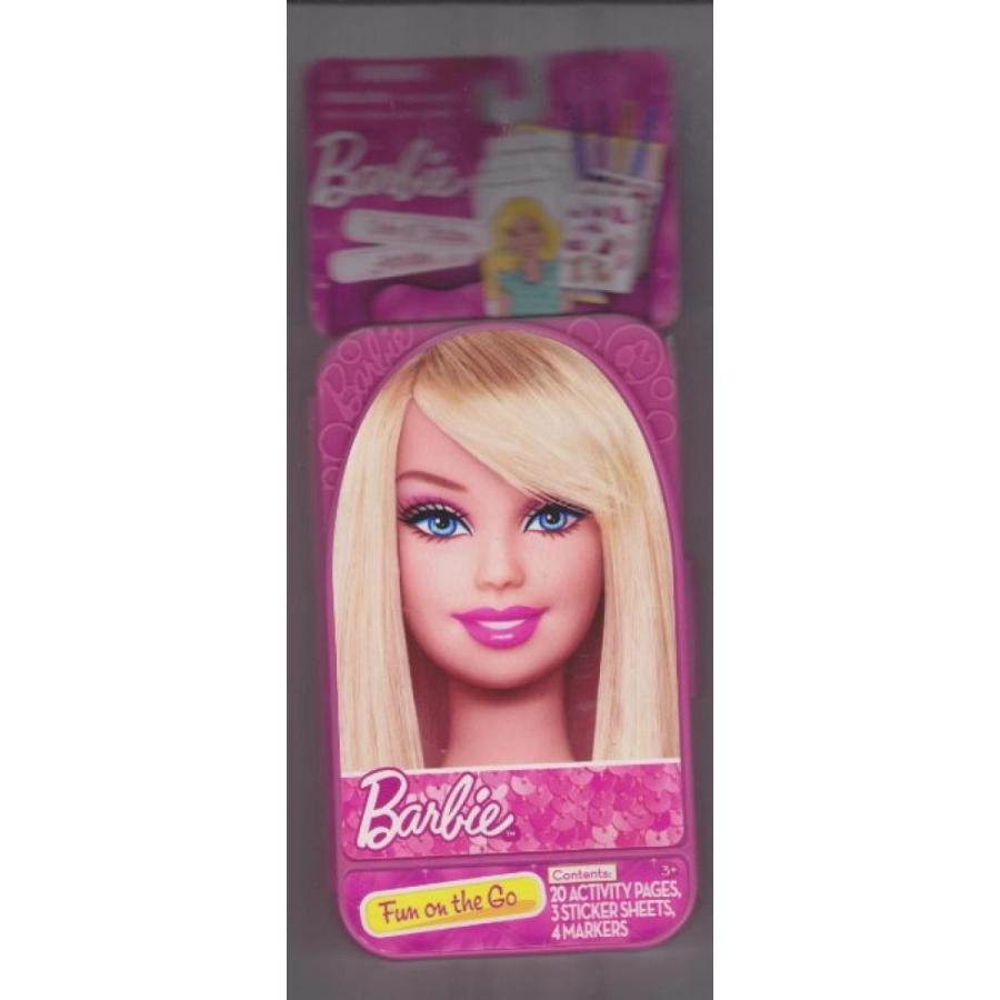 バービー人形 着せ替え おもちゃ Barbie Color N' Stickers Activities-Fun on the Go 輸入品