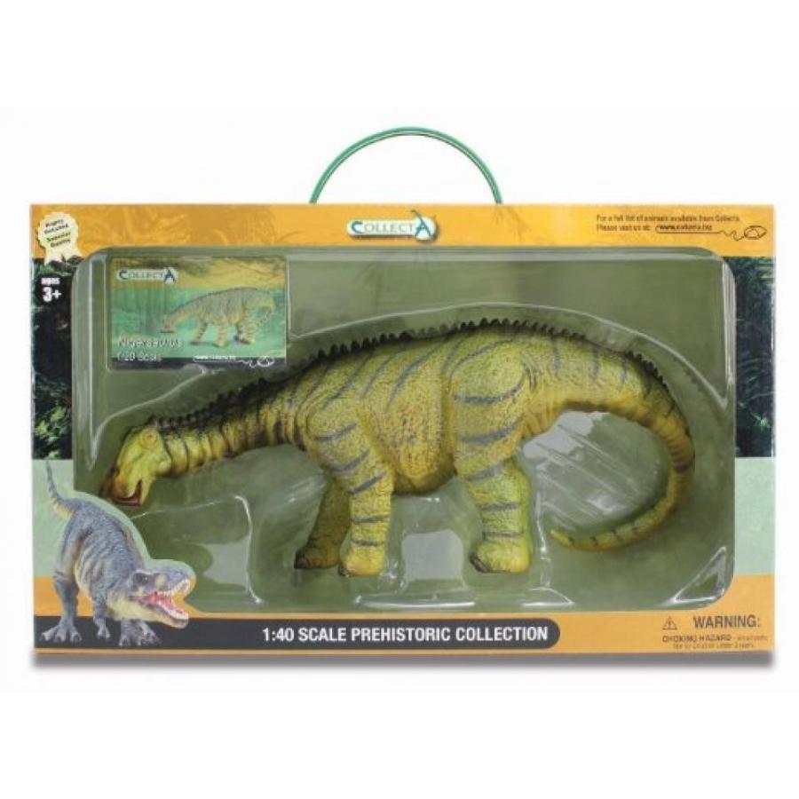 ジュラシックワールド おもちゃ フィギュア 恐竜 CollectA Nigersaurus Toy in Window Box 輸入品