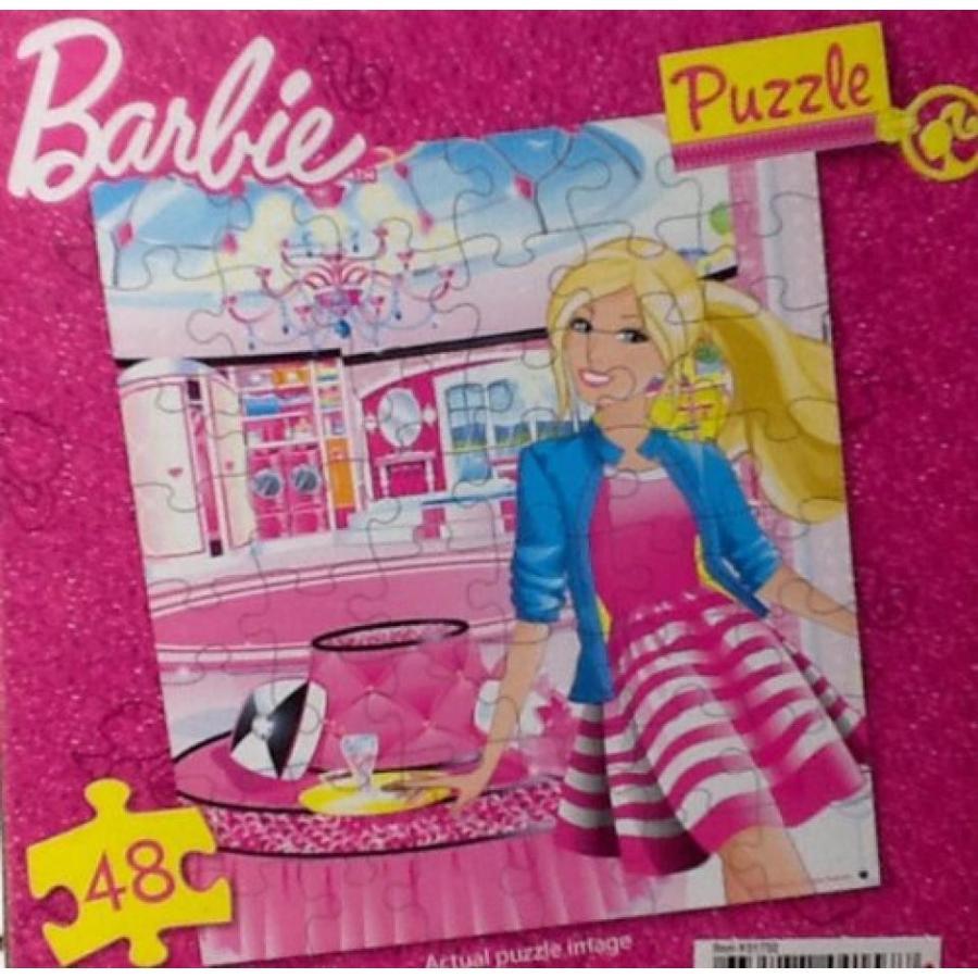 バービー人形 着せ替え おもちゃ Barbie Puzzle ~ 48 Piece Puzzle! ~ 9