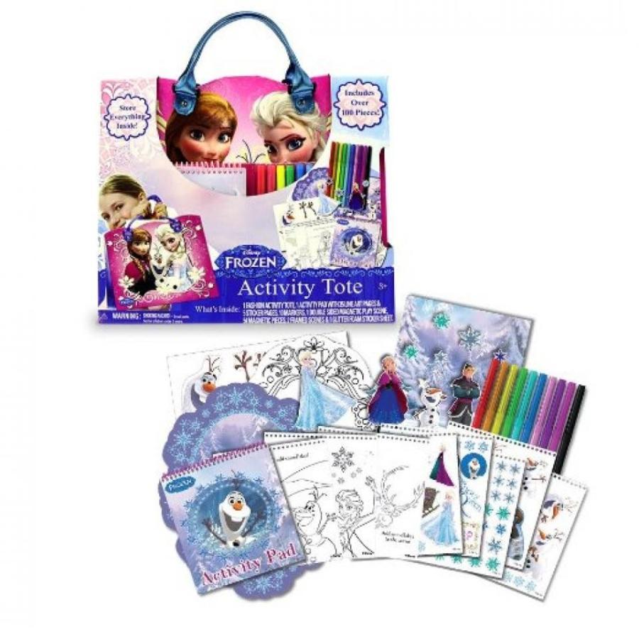 アナと雪の女王 おもちゃ フィギュア Tara Toy Frozen Activity Tote Kit 輸入品