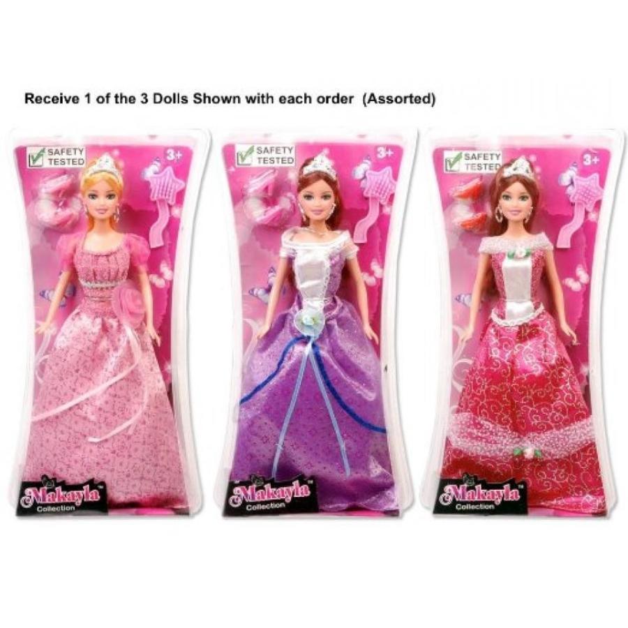 バービー人形 着せ替え おもちゃ Princess Doll Playset (11.5