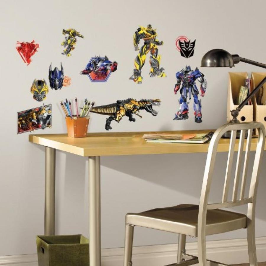 トランスフォーマー おもちゃ 変形 合体ロボ RoomMates Transformers: Age of Extinction Peel and Stick Wall Decals 輸入品