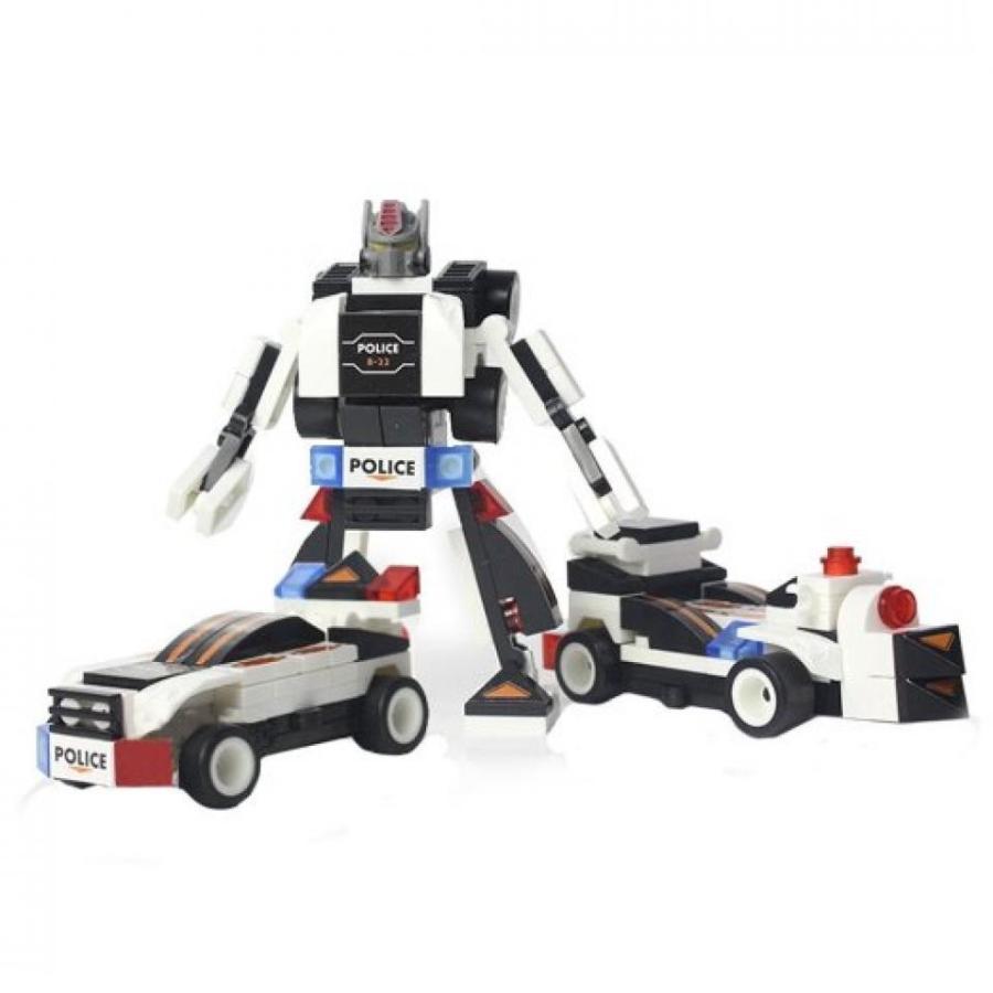 トランスフォーマー おもちゃ 変形 合体ロボ Transform Warrior 3D Police Car Transformers (3 Type