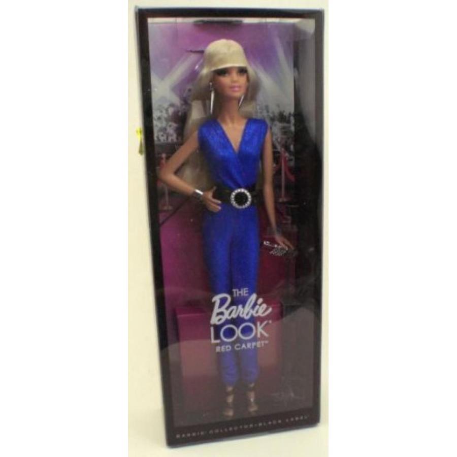 バービー人形 おもちゃ 着せ替え 青 The Barbie Look Doll 赤 Carpet [Toy] 輸入品
