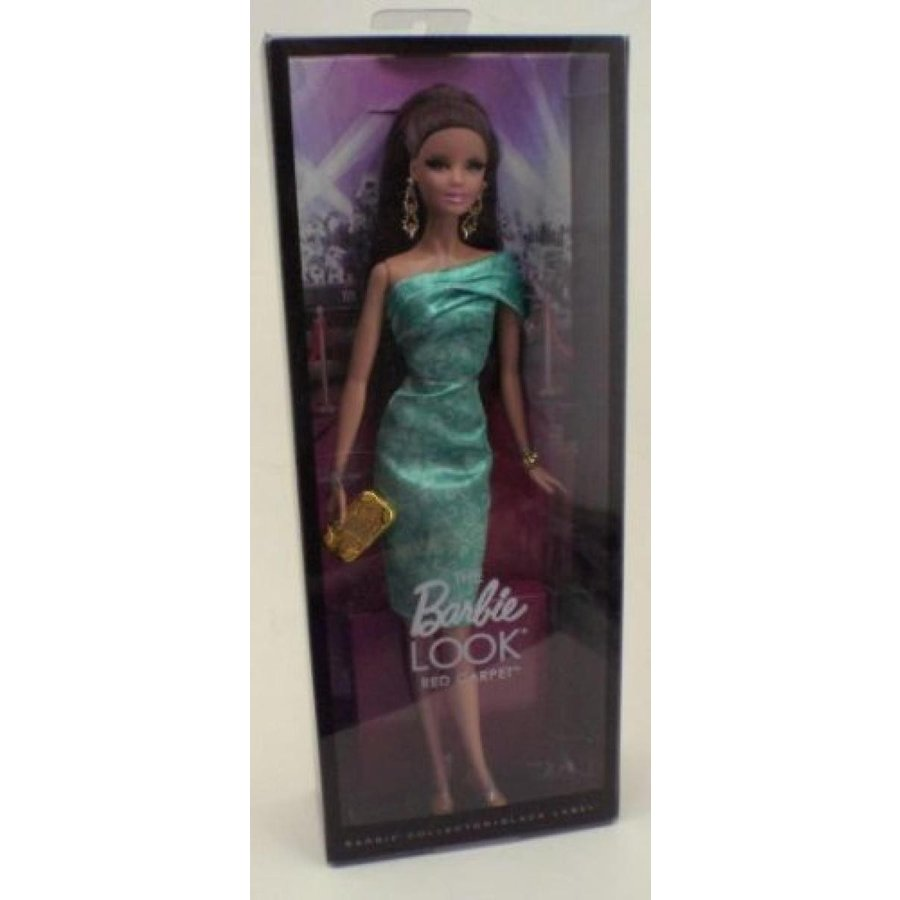 バービー人形 おもちゃ 着せ替え 緑 The Barbie Look Doll 赤 Carpet [Toy] 輸入品