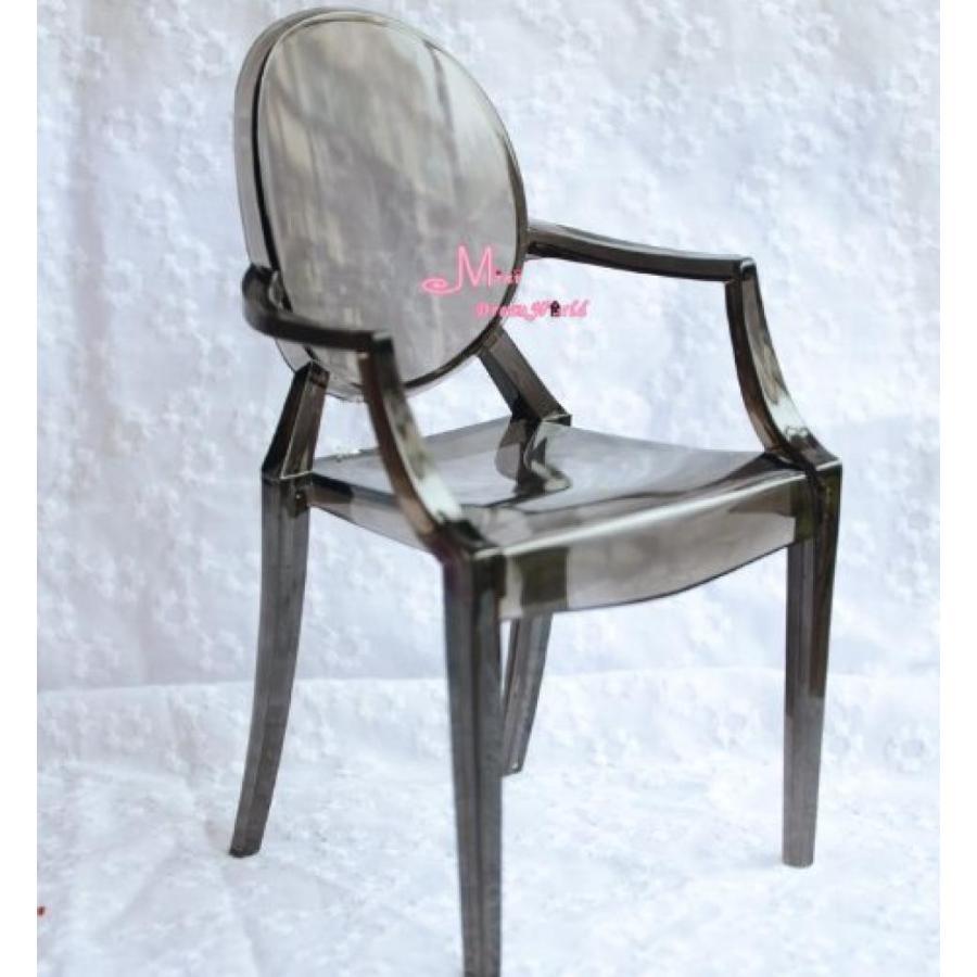 バービー人形 着せ替え おもちゃ 1/6 Barbie blythe 黒 Tranparent Plastic Arm Toy Chair Dollhouse Miniature 輸入品