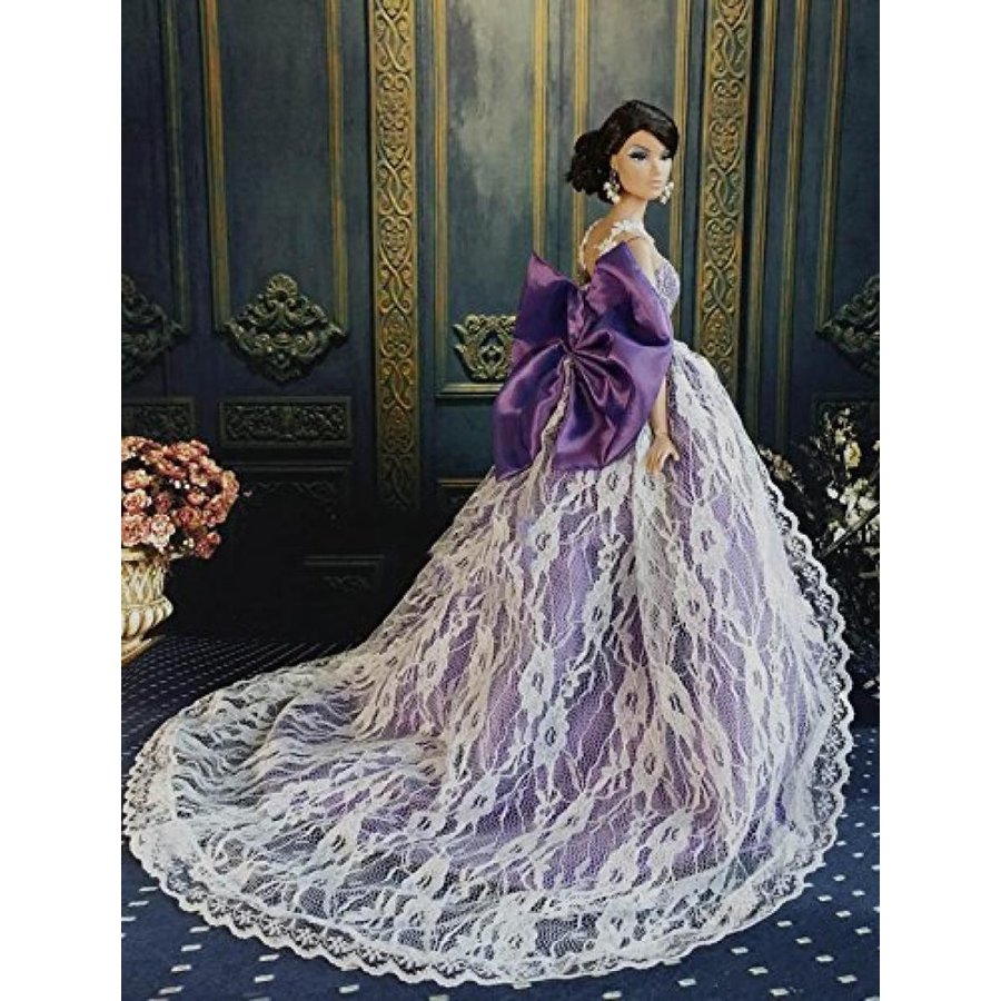 バービー人形 おもちゃ 着せ替え Wedding of big ribbon dress Barbie, Jenny, such as 1/6 Doll 輸入品