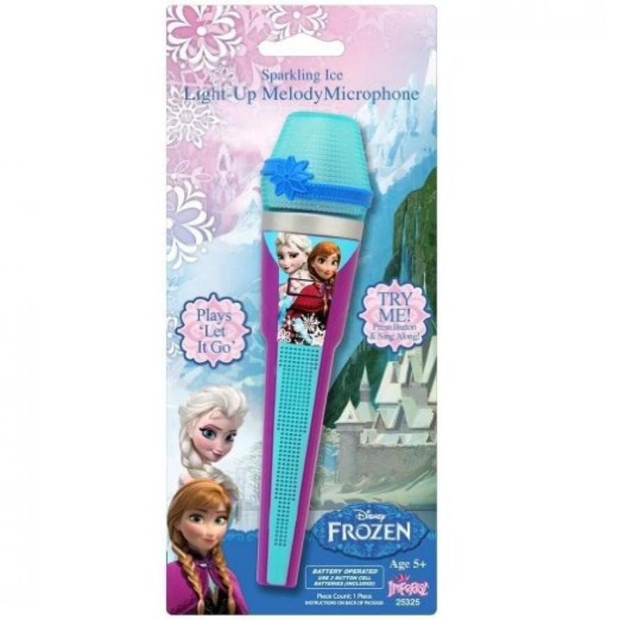アナと雪の女王 おもちゃ フィギュア Disney Frozen Singing Light up Microphone 輸入品