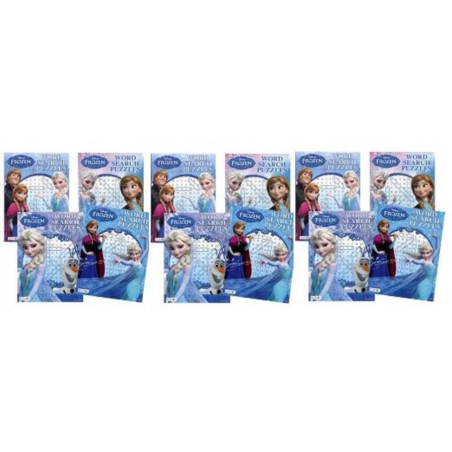 アナと雪の女王 おもちゃ フィギュア Frozen Word Search Puzzle x 12 輸入品